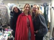 Make up artist Kaci, UPM Julia Schaffer and Wardrobe Sylist Jane Williams are all awesome