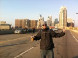 Script Supervisor Brandon Lohstreter takes over the bridge.