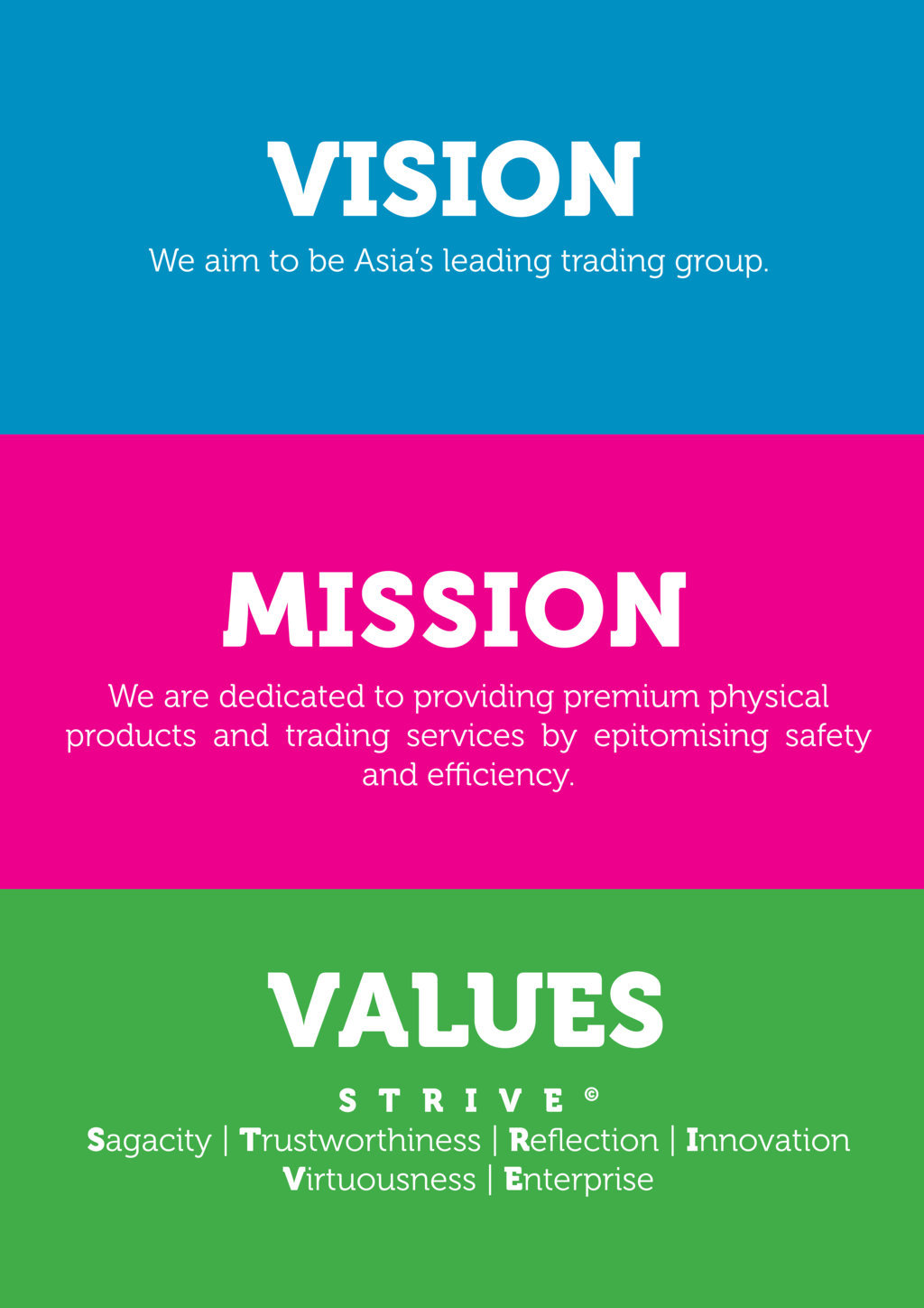 Vision Mission And Values Guiding Principles