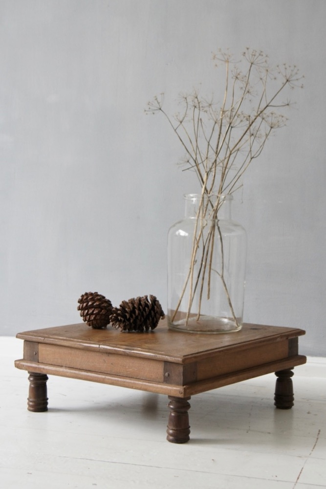 low coffee table india antique