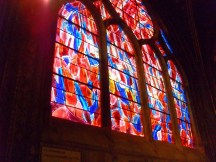 stained glass in St. Severin