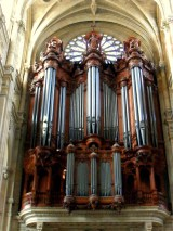 organ in St. Eustache