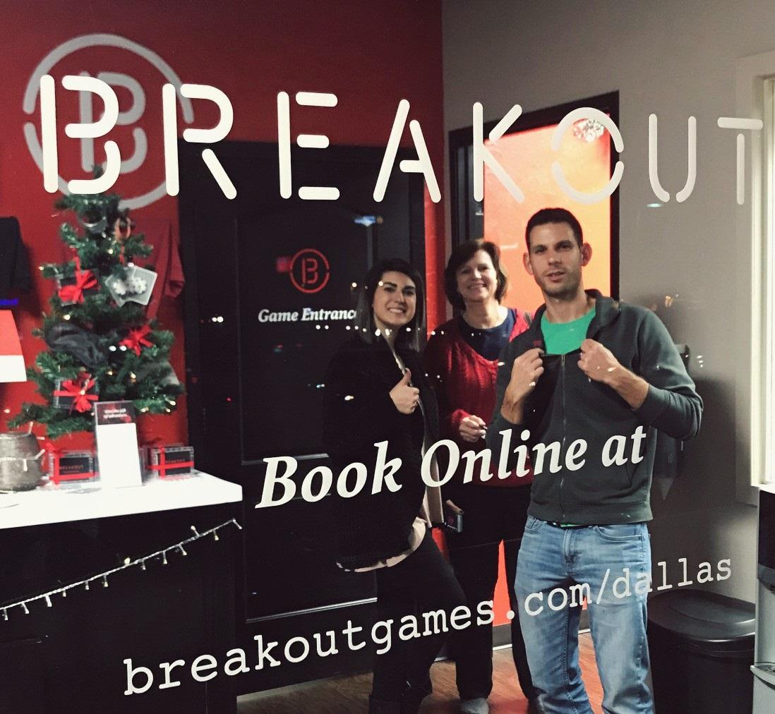 breakout games dallas