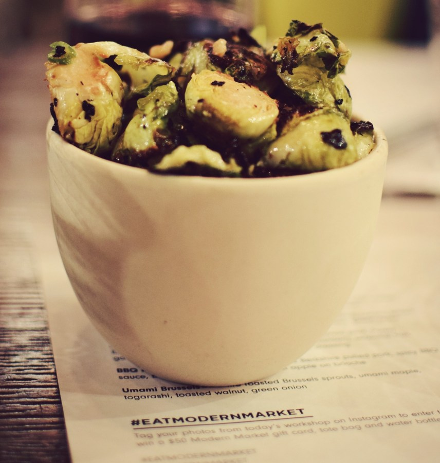 umami brussels sprouts modern market fall winter menu