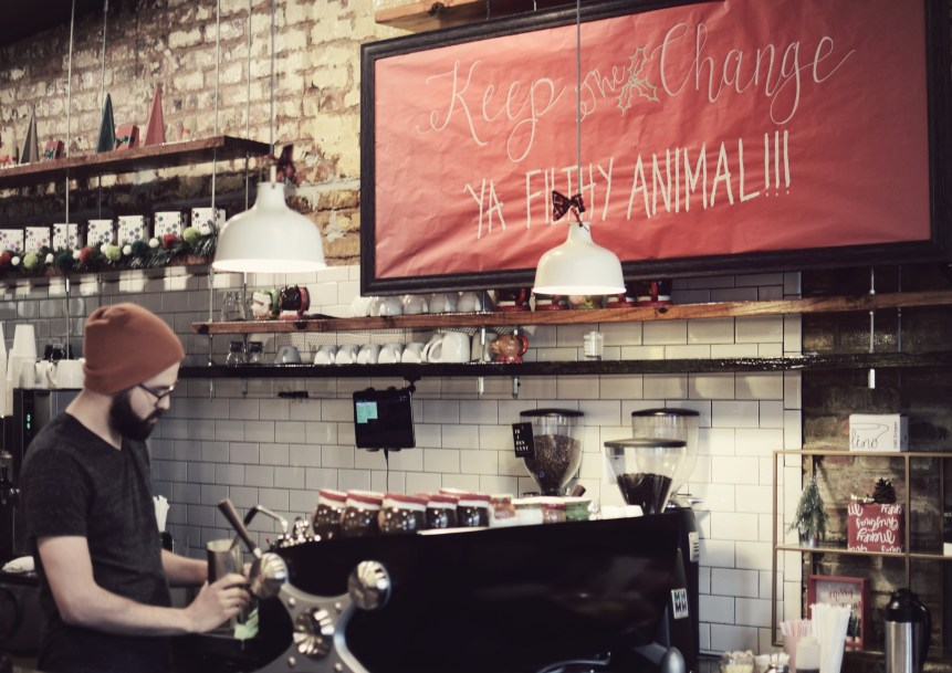deck the hall coffee shop dallas texas