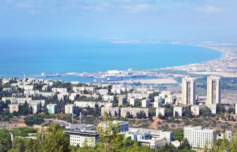 bay in haifa, israel