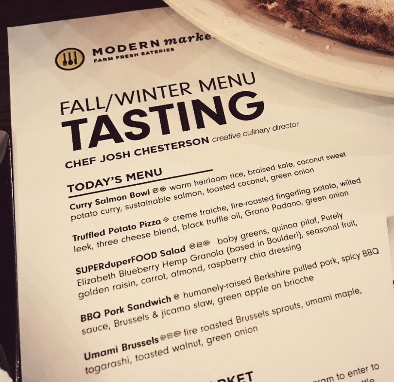 modern market dallas fall winter menu tasting blogger event