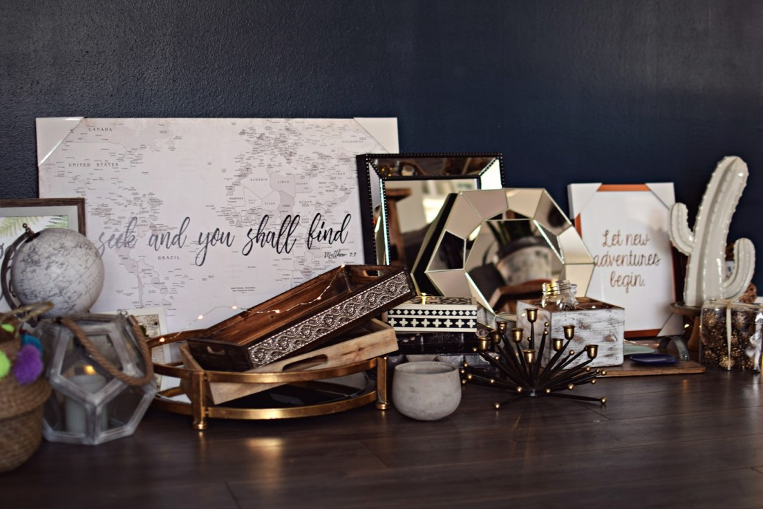 home decor haul from at home stores