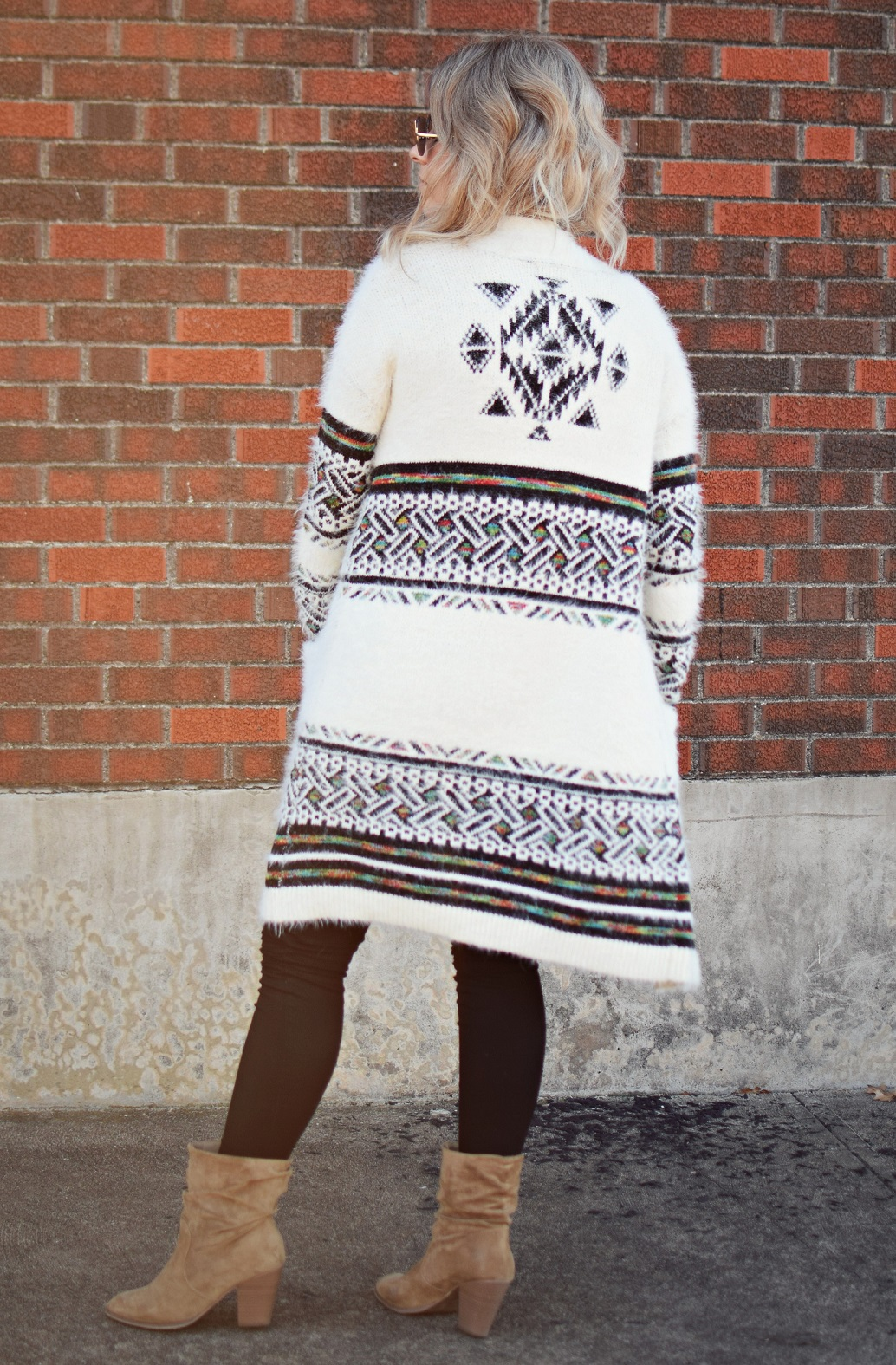 ross dress for less tribal cardigan sweater