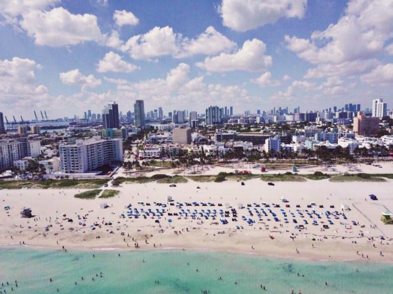 drone photography south beach miami