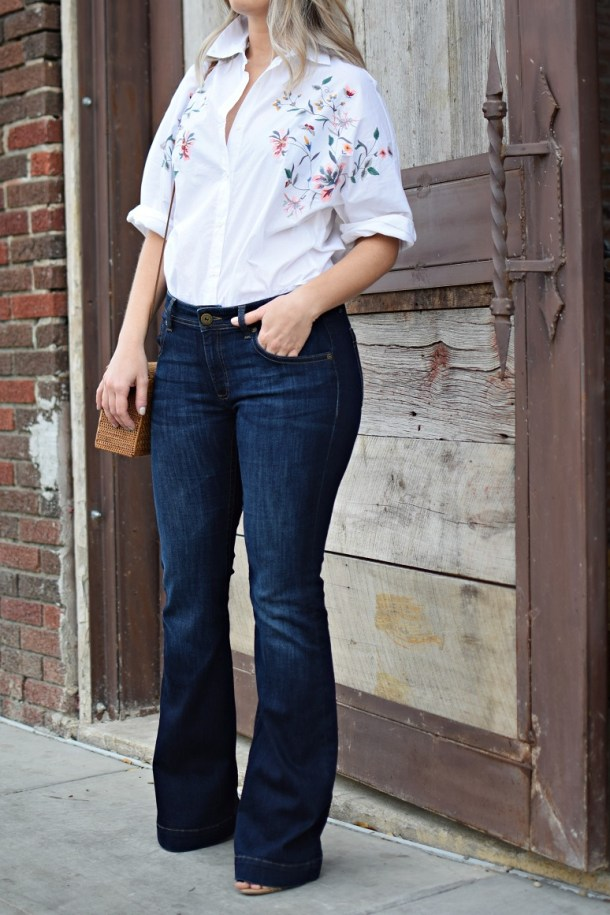 buffalo exchange flare jeans