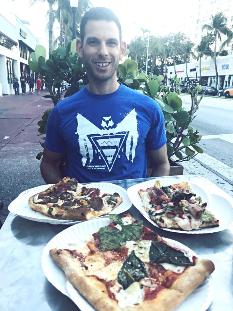 dinner at pizza rustica south beach miami