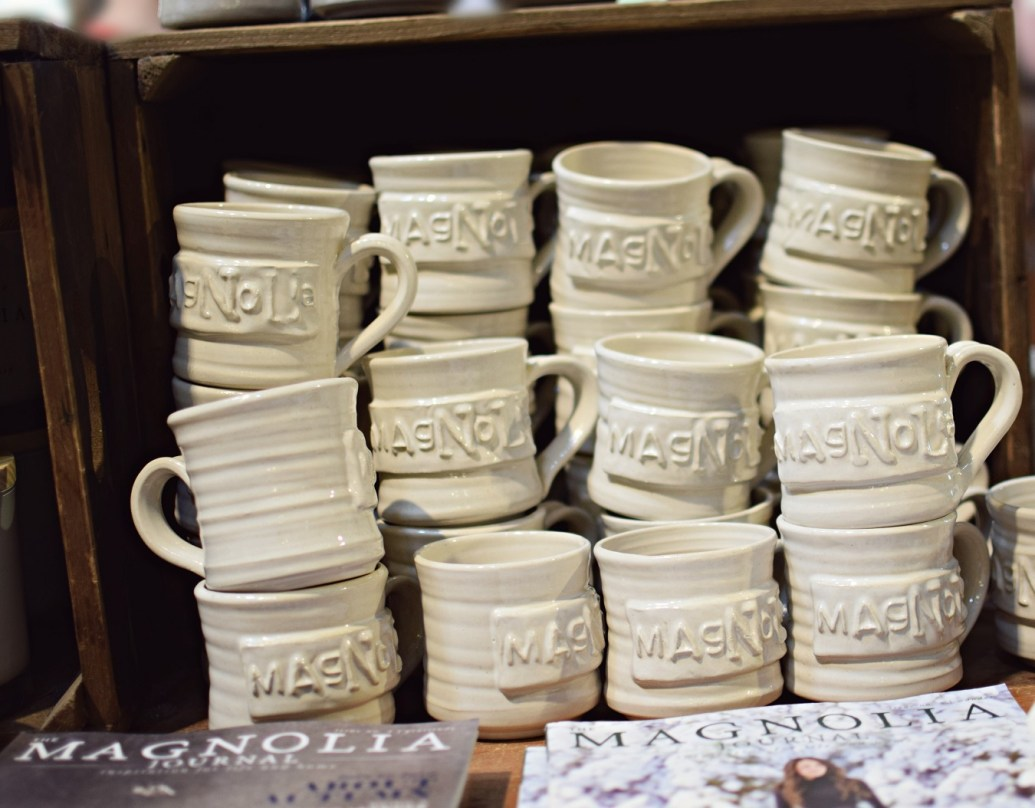 visual display cups magnolia silos waco texas