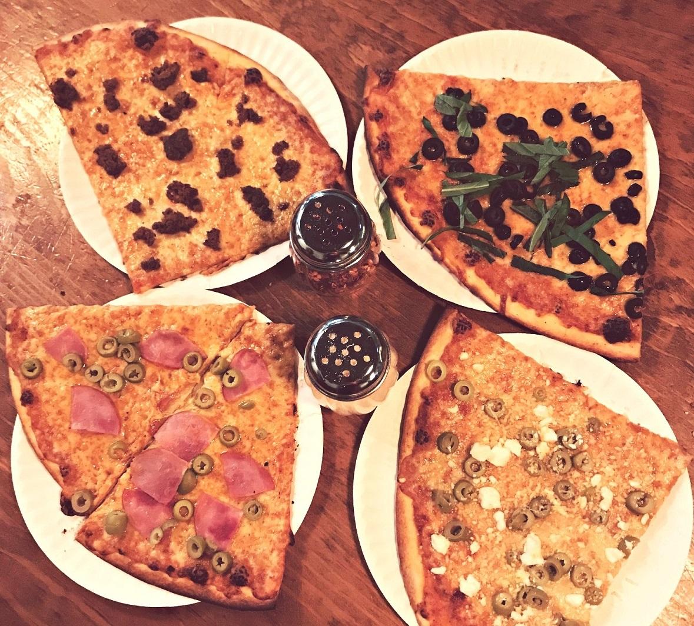 greenville avenue pizza company slices for supplies event
