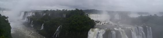View from Brazilian side