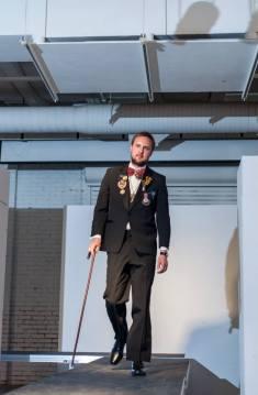 Runway Show at Marry Me Indie in Tulsa, OK. Model: Michael Greenlee.