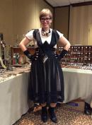 Me in my booth at The World's Steampunk Fair in New Jersey