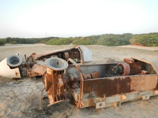 Asia's first windmill project since1983. rusting away