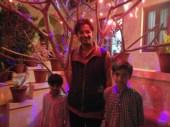 With Mrityunjay and Padmini