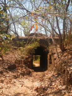 Entrance To Redi Fort