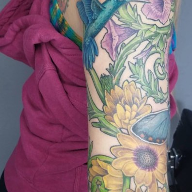 floral sleeve tattoo4