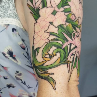 vine tattoo