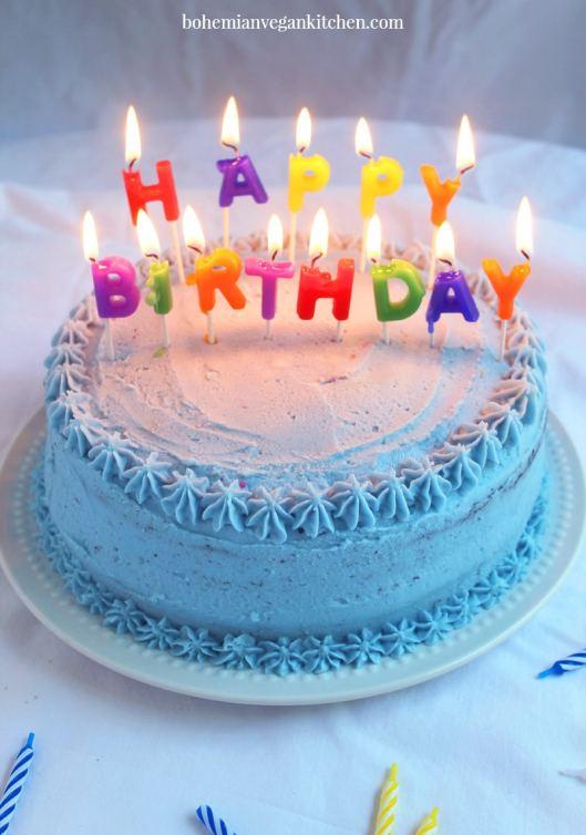 The Best Vegan + Allergy-Friendly Birthday Cake You'll Ever Make ...