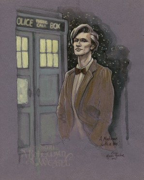 Dr Who #11 by Soni Alcorn-Hender