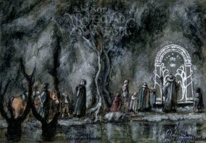 'The Doors of Durin, Lord of Moria.' by Soni Alcorn-Hender