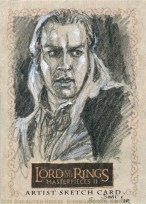 'To the Keep!' Topps Lord of the Rings LotR Masterpieces 2 sketch card by Soni Alcorn-Hender