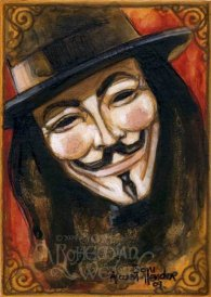 V for Vendetta by Soni Alcorn-Hender