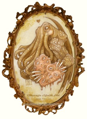 Horror Valentine, Cthulhu Love, by Soni Alcorn-Hender