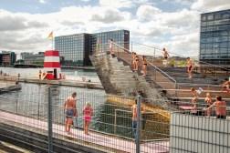 Havnebadet Islands Brygge, mestno kopališče // Havnebadet Islands Brygge, city sea baths