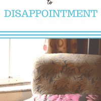The Depressed Mom's Guide to Disappointment