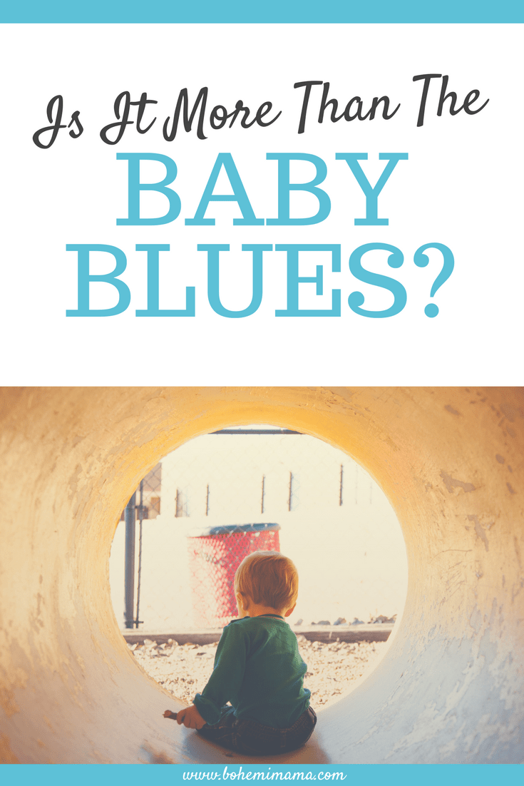 Is It More Than The Baby Blues?