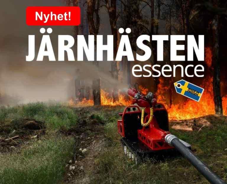 JärnHästen Essence med brandspruta