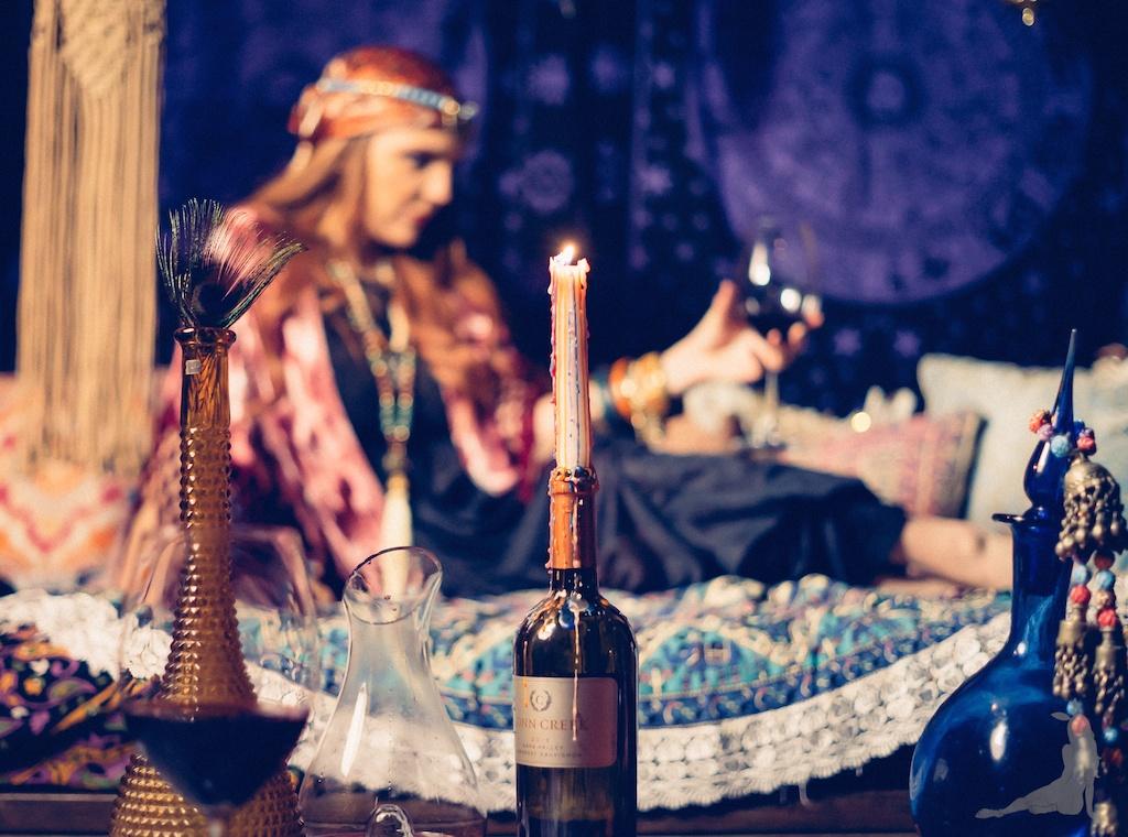 tracey-filapose-boho-bunnie-gypsy-jewels-bohemian-tapestry-decor-velvet-fringe-kimono-vintage-trippy-hippie-store-drip-candles-fortune-teller 23