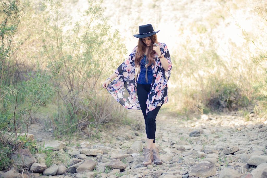 ruby-ribbon-kimono-shawl-floral-print-shape-wear-bohemian-western-bedstu 4