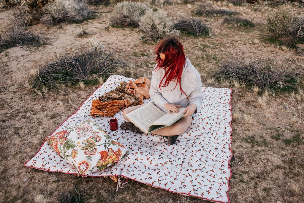 sleeping-bag-beauties-joshua-tree-bohemian-decor-coachella-blanket-desert-camping-glamping-eye-mask-boho-fashion-style-blogger 23