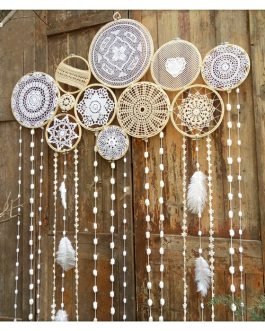 Boho Chic Dreamcatcher Handmade Wind Chimes