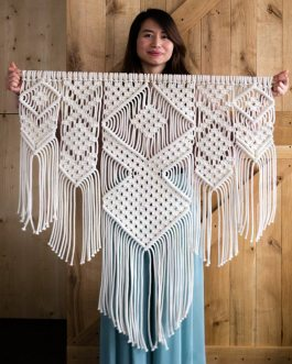 Boho Chic Macrame Tapestry For Home