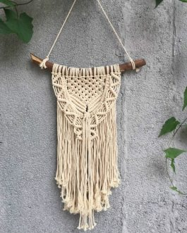 Boho Chic Macrame Wall Art Handmade Cotton Wall Hanging Tapestry