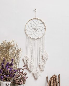 Boho Chic Bohemian Beautiful Hanging Hoops Macrame Tapestry