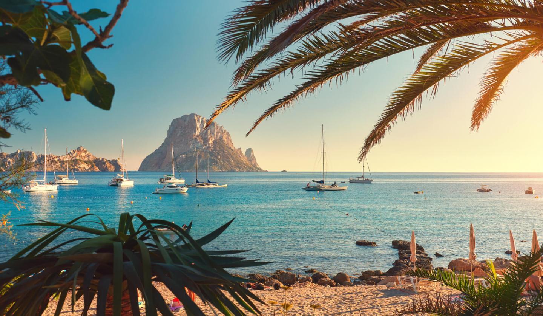 Cala d'Hort en Ibiza, Islas Baleares