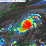 Typhoon 'Bising' maintains strength as its moves towards Sorsogon