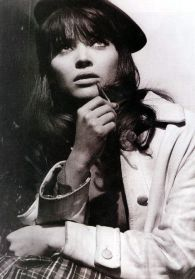 Anna Karina from film Pierrot le Fou (directed by Godard)