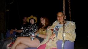 Evening at Furst World in Joshua Tree with Hive Gallery crew photo by Janell Champoy Lim