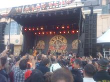 Brian Setzer headlining the Rockabilly music festival