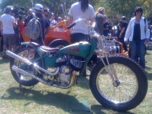 Vintage Indian Motorcycle