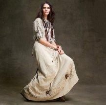 Artka юбка цвета хаки